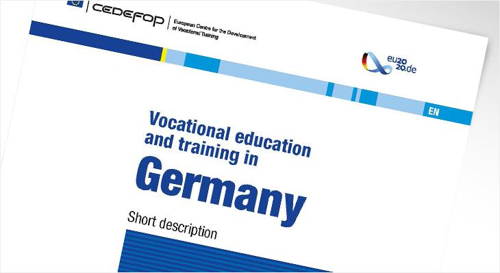 """Bericht """"VET in Germany 2020"""""""