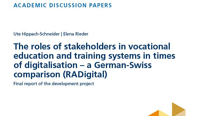 Roles of VET stakeholders