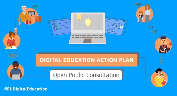 "Konsultation ""Digitale Bildung"""